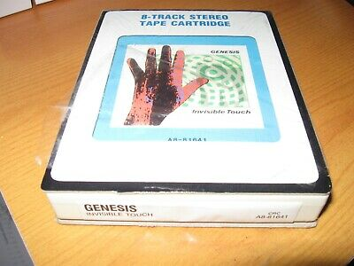 ** 1986 8 Track Cartridge CRC - Invisible Touch By Genesis - ! ** • 85£