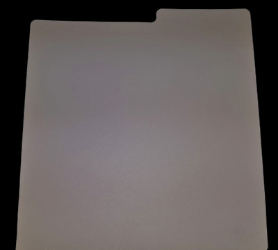 Set Of 25 X 7  Plastic Vinyl Record Wipeable Dividers [White]  + 24h Delivery • 16.95£