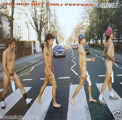 RED HOT CHILI PEPPERS  ABBEY ROAD E.P.  U.S. PROMO POSTER - Funk Rock Music • 21.54£