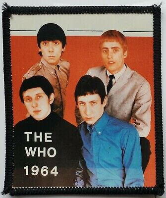 The Who Vintage Original Photo Patch 1964 Mod Quadrophenia Mods Scooter Soul  • 7.99£