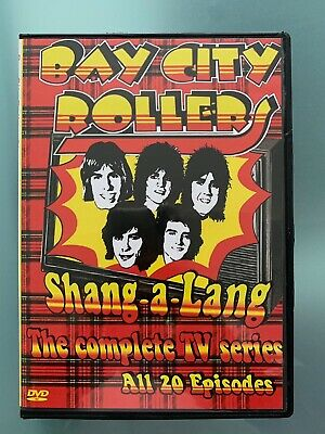 Bay City Rollers DVD Complete TV Series Shang-A-Lang 1975 - 20 Episodes 2 Discs • 38.75£