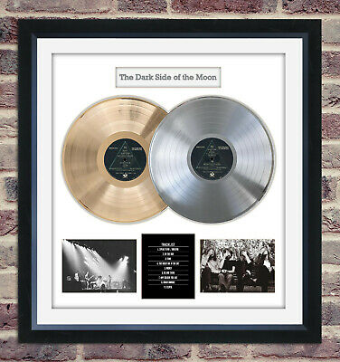 Pink Floyd - The Dark Side Of The Moon LIMITED EDITION Framed Display W/ Album • 285.18£