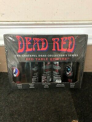 5 Bottle Set Grateful Dead - Red Table Unwine Limited Collectible Edition 1996  • 85.80£
