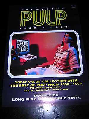 Original Pulp Promotional Poster - Countdown • 8.95£
