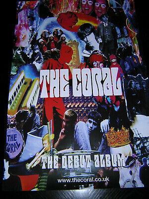 Original Coral Promotional Poster - The Coral • 6.95£