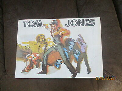 'the World Of Tom Jones' 1974 Concert Programme • 9.99£
