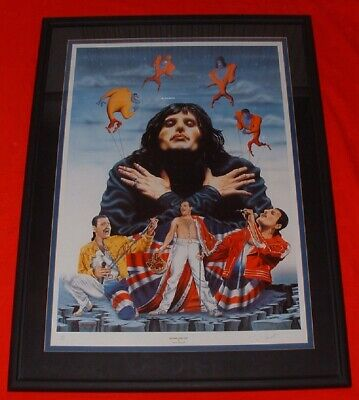 Freddie Mercury Queen – Limited Edition Art Print By Trevor Horswell • 100£