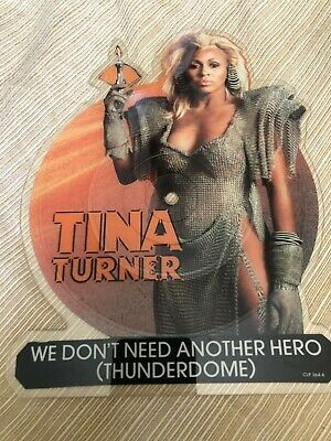 Tina Turner We Don't Need Another Hero 12  Vinyl Shaped Picture Disc 1985 • 56.82£