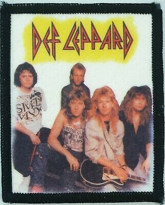 Def Leppard Vintage Original Printed Patch Nwobhm Heavy Metal Aor Rock • 12£