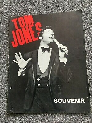 Tom Jones Souvenir Programme 1060's • 9.99£