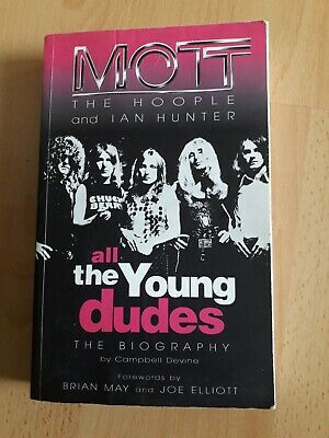 Mott The Hoople Signed Book • 50£