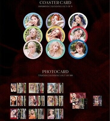 Twice More&More Official Photocards & Coaster Cards [Select Member] (US Seller) • 4.34£