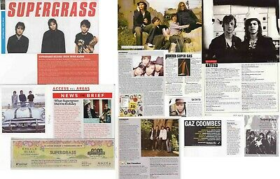 SUPERGRASS : CUTTINGS COLLECTION - Interviews Adverts  • 3.75£