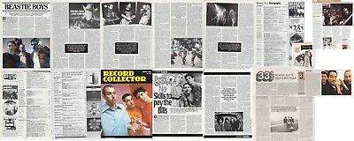 BEASTIE BOYS : CUTTINGS COLLECTION - Magazine Articles  • 3.45£