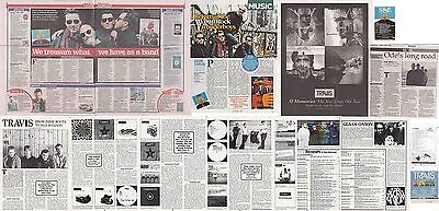 TRAVIS : CUTTINGS COLLECTION - Adverts Interviews  • 3.50£