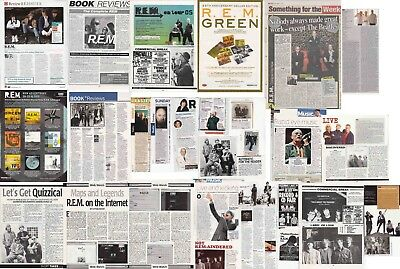 R.E.M. : CUTTINGS COLLECTION - Interview Adverts Clippings • 4.85£