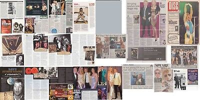 ROD STEWART : CUTTINGS COLLECTION - Magazine Articles  Adverts Etc • 5.50£