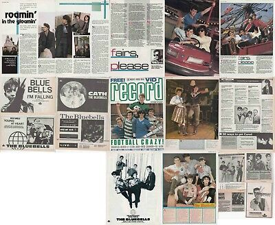 THE BLUEBELLS : CUTTINGS COLLECTION - Adverts Interviews  • 5.30£