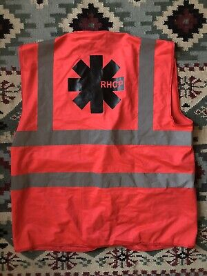Red Hot Chili Peppers Crew Only Hi Vis Safty Vest  • 26£