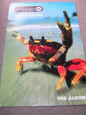 Original Prodigy Promotional Poster - The Fat Of The Land • 8.95£