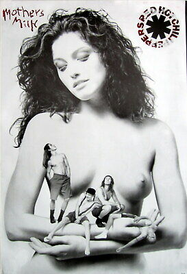 Red Hot Chili Peppers  Mother's Milk  Poster From Asia (uncensored) • 15.62£