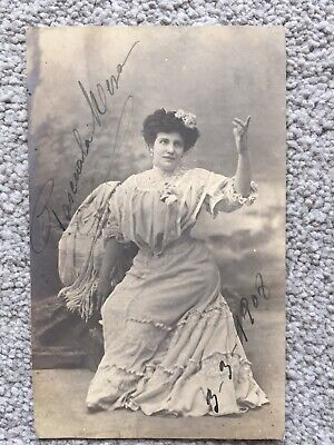 Pasquala Mesa   ~original Autographed  Postcard ~ 3 March 1908  • 10£