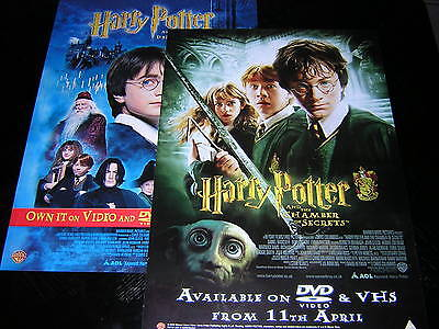 2 Original Harry Potter Promotional Posters • 6£