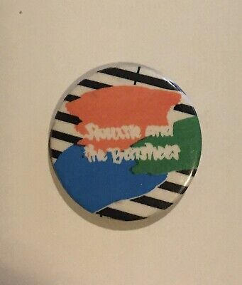 Siouxsie And The Banshees  Kaleidoscope   Vintage 1980's Pin Badge • 2.50£