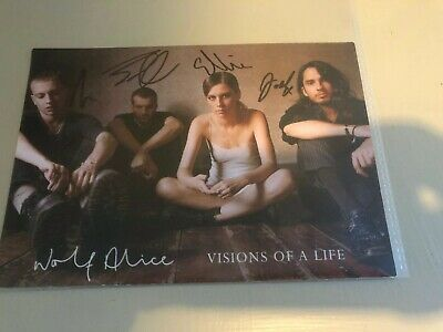Wolf Alice - Visions Of A Life (very Rare Signed Promo Card!) • 19.99£