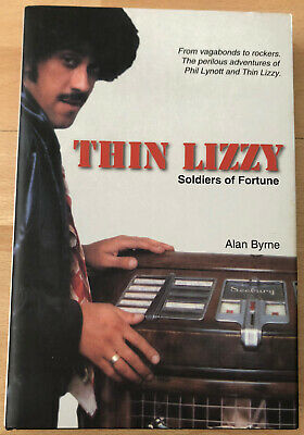 THIN LIZZY SOLDIERS OF FORTUNE Very Rare Book In New Condition • 34.99£