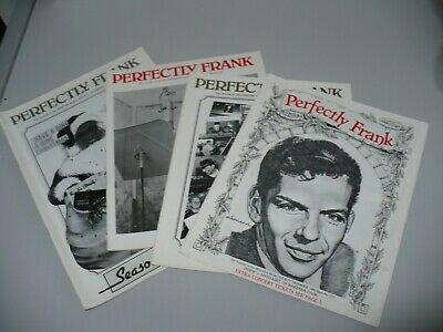 Frank Sinatra Fanzine Collection  Perfectly Frank   • 49.99£