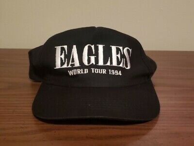 Rare Eagles World Tour 1994 Hell Freezes Over Snapback Hat • 37.51£