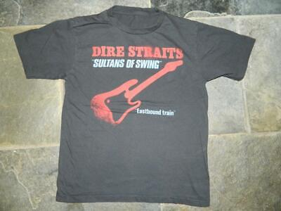 Dire Straits Sultans Of Swing Tee Shirt Eastbound Train T-Shirt Knopfler  Small • 19.99£