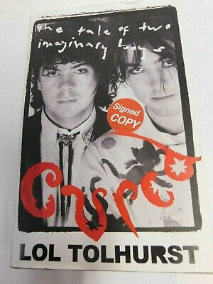 Lol Tolhurst The Cure Drummer, Signed Book   Cured    First Hardcover Edition Uk • 9.99£