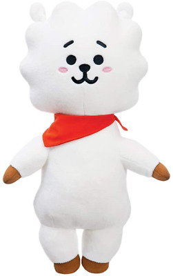 AURORA BT21 Official Merchandise, RJ Soft Toy, Medium, 61316, White • 24.47£