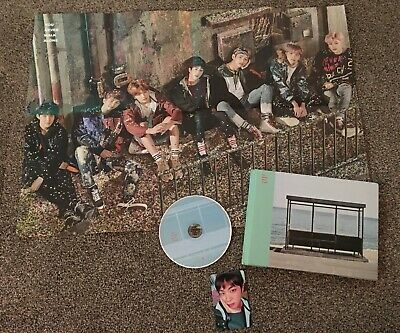 BTS You Never Walk Alone Photo Album, Includes CD, Photocard And Poster • 12£