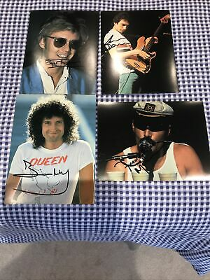 Queen Rock Group Autographs • 49.99£