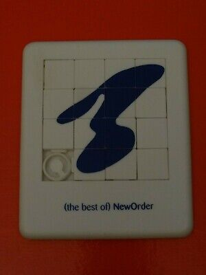(the Best Of) New Order Puzzle Tile Promotional Game Never Used Rare • 29.99£