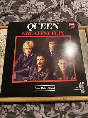 Queen Greatest Flix Japanese Laserdisc • 14.80£