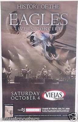 EAGLES  HISTORY OF THE EAGLES 2014 TOUR  SAN DIEGO CONCERT POSTER - Henley, Frey • 11.99£