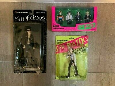 Sex Pistols Medicom Collectible Set Featuring Sid Vicious & Johnny Rotten New • 110.45£