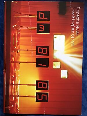 Depeche Mode The Singles 81 85 Large Promotional Postcard Mute • 3.99£