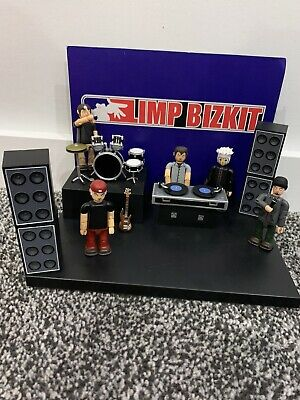 Limp Bizkit Limited Edition Smiti Playsets With Full Band Rare Collectible • 33£