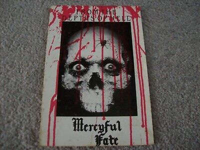 Vintage Mercyful Fate From The Depths Of Hell Unused Postcard • 2.99£