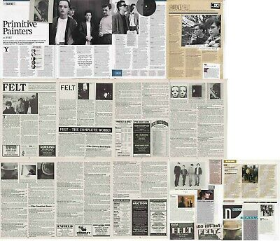 FELT : CUTTINGS COLLECTION - Adverts Interviews  • 4.40£