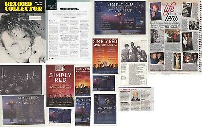 SIMPLY RED : CUTTINGS COLLECTION - Adverts Interviews • 3.55£