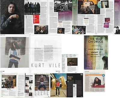 THE WAR ON DRUGS : CUTTINGS COLLECTION - Interviews  Kurt Vile • 4.75£