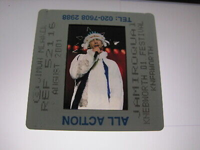 JAMIROQUAI JAY KAY 35mm Promo Press Photo Slide #21139 • 4.99£