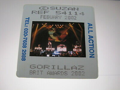 GORILLAZ DAMON ALBARN 35mm Promo Press Photo Slide #16850 • 4.99£
