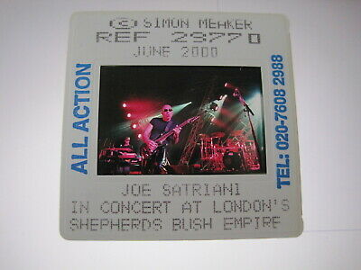 JOE SATRIANI  35mm Promo Press Photo Slide #16228 • 4.99£